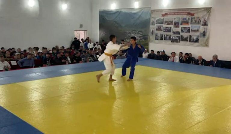 В Агульском районе состоялось открытое первенство по дзюдо