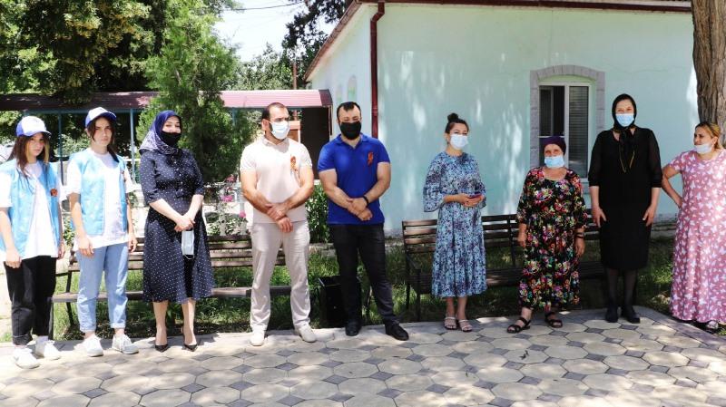 В Кайтагском районе почтили память погибших в годы Великой Отечественной войны