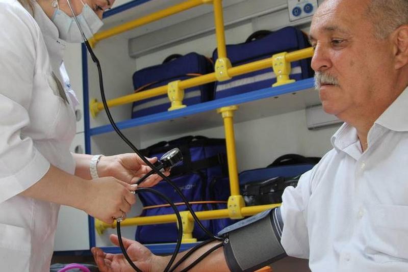 В ДГПУ работает мобильный прививочный пункт