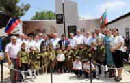 В селении Фиргиль открыт памятник воинам, павшим в Великой Отечественной войне