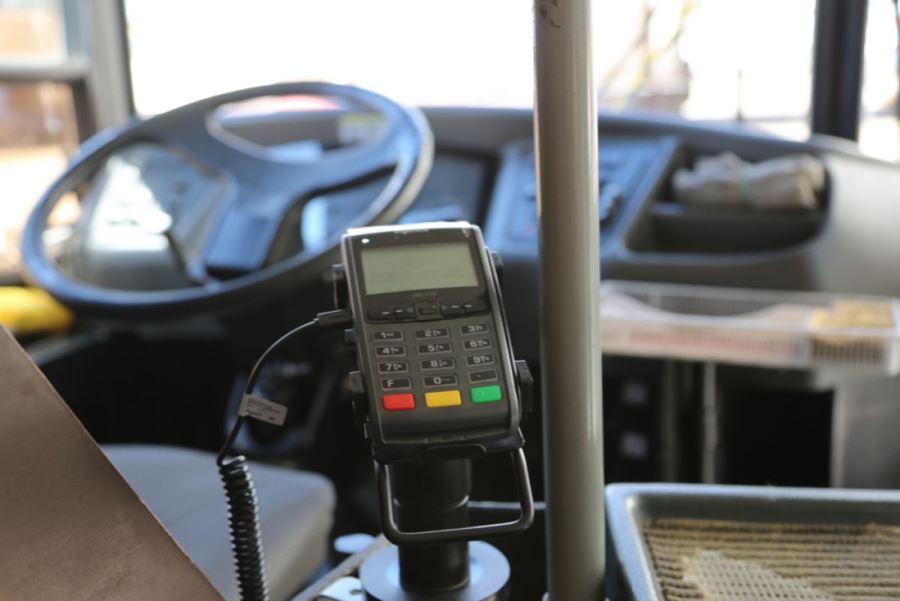 В Каспийске запустят систему безналичной оплаты за проезд в общественном транспорте