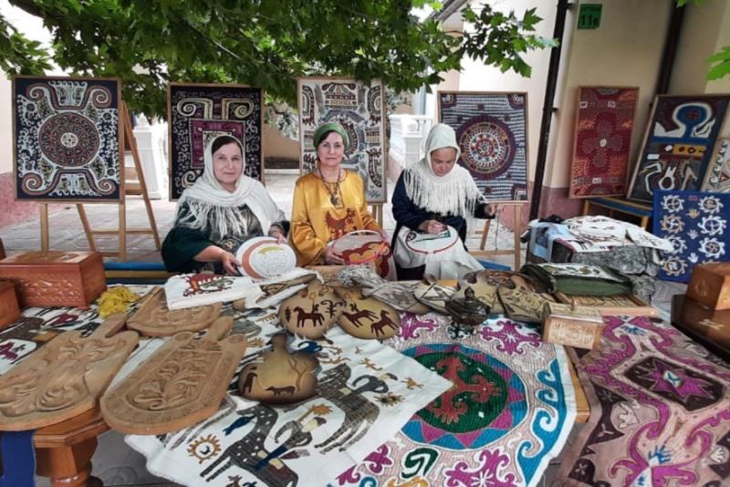 Творческий коллектив из Кайтагского района участвует в XIX Международном фестивале «Горцы»