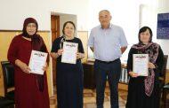 Работников почтового отделения Кайтагского района наградили благодарственными грамотами