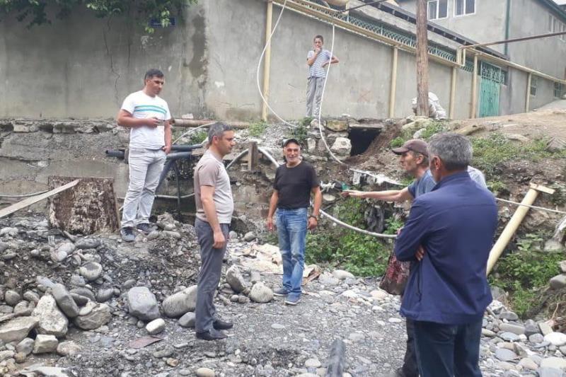 Глава Ботлихского района проверил ход работ на объекте-долгострое