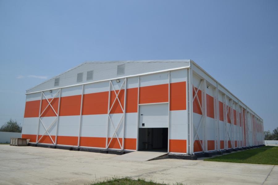 В Кизлярском районе построили хранилище для овощей и фруктов на 3 тысячи тонн