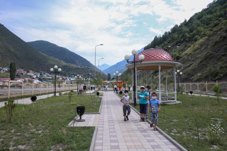 Парк культуры и отдыха достроят в селе Тлярата
