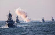 Парад боевых кораблей Каспийской флотилии состоялся в Дагестане