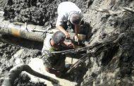 В Магарамкентском районе ведутся работы по ремонту водопроводных сетей