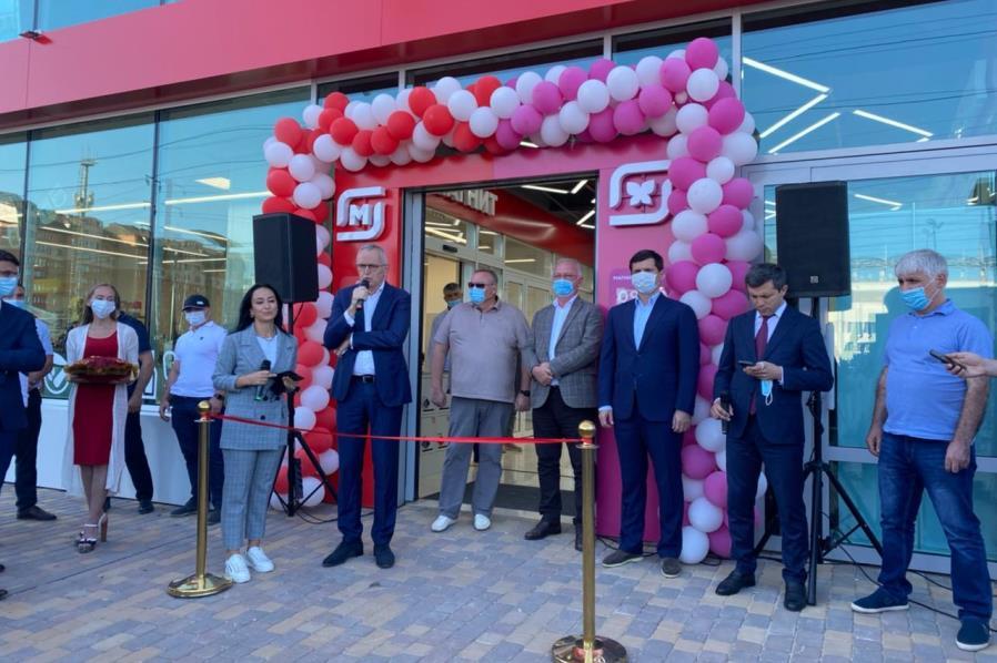В Каспийске открыт первый в Дагестане магазин сети «Магнит»