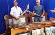 Частная коллекция холодного оружия Казима Загирова была представлена на выставке в Дербенте