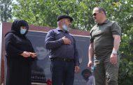 Сергей Меликов навестил семью Гасангусеновых в Шамильском районе