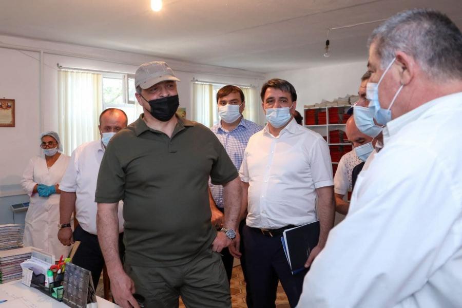 Сергей Меликов поддержал развитие социальной инфраструктуры села Новогагатли