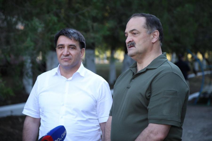 Сергей Меликов подвел итоги рабочей поездки в Тарумовский и Хасавюртовский районы