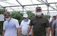 Руководитель Дагестана посетил с рабочей поездкой Тарумовский район