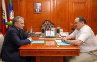 Сергей Меликов провел рабочую встречу с замруководителя Федерального казначейства