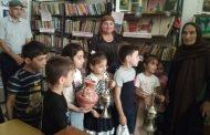 Воспитанников детсада «Родничок» Кайтагского района познакомили с библиотекой