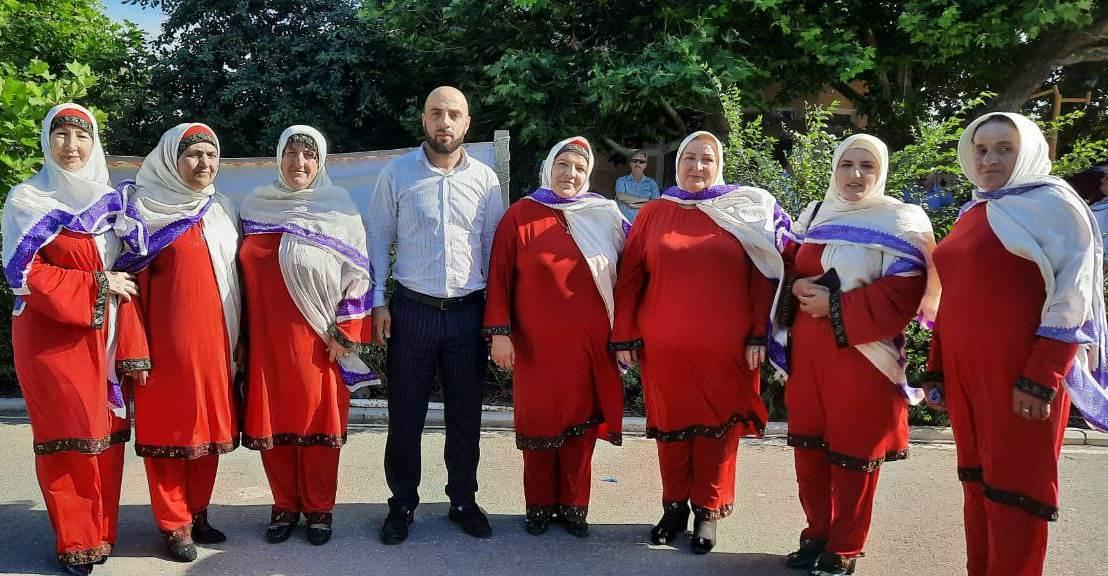 Казбековский район принял участие в Международном фестивале «Горцы»