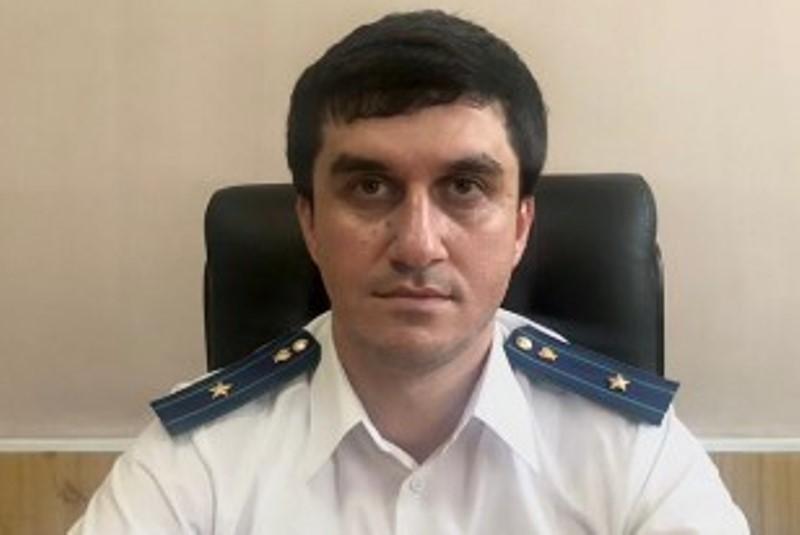 В Курахском районе приступил к обязанностям новый прокурор района