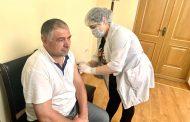 Работники ДИРО вакцинировались от COVID-19