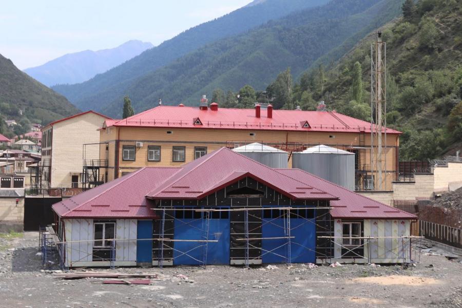 Пожарное депо построят в Тляратинском районе к концу 2021 года