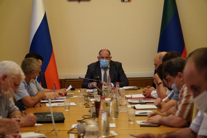 Гидрометеорологическую обстановку в Дагестане обсудили на заседании противопаводковой комиссии