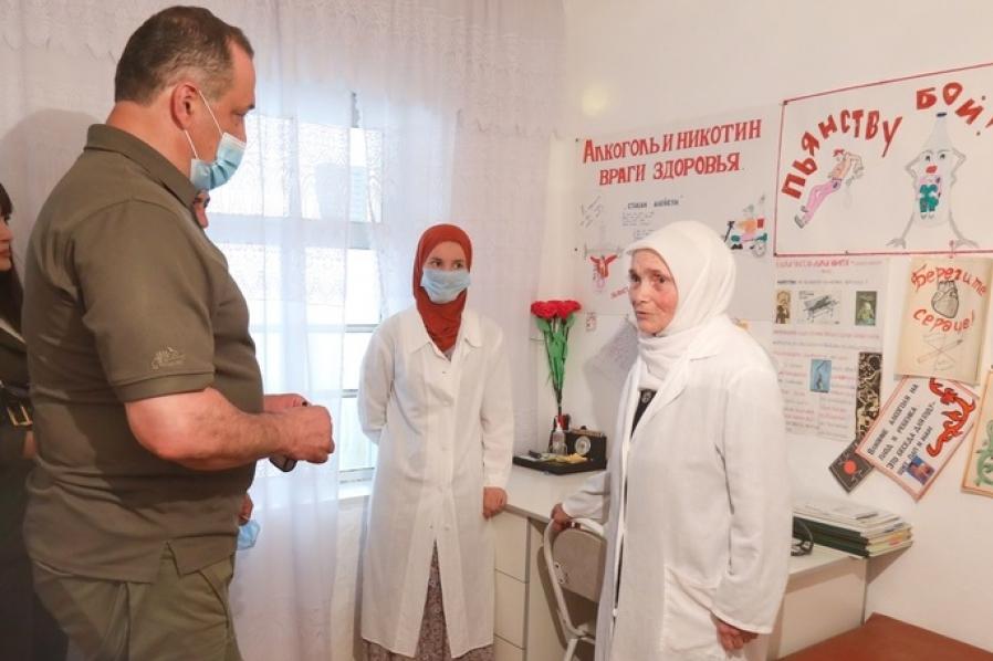Сергей Меликов поручил проработать строительство комплексного учреждения в селе Гоор-Хиндах
