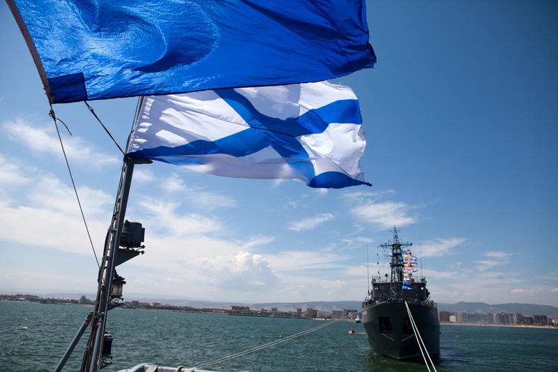 Каспийская флотилия предупредила о «шумовых эффектах» во время репетиций к параду в честь Дня ВМФ