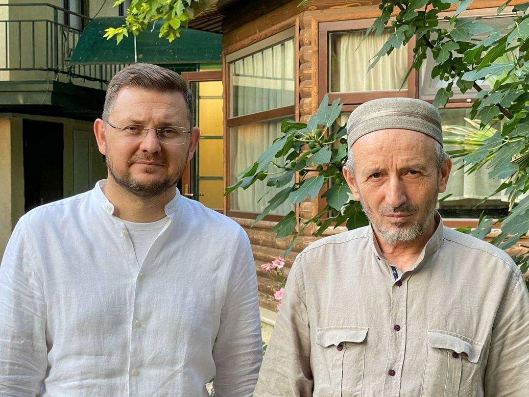 Салман Дадаев обсудил с муфтием Дагестана ситуацию с коронавирусом