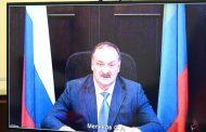 Сергей Меликов рассказал Путину о борьбе с коронавирусной инфекцией в Дагестане
