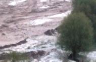 В Курахском районе ливни повредили дороги и сельхозугодия