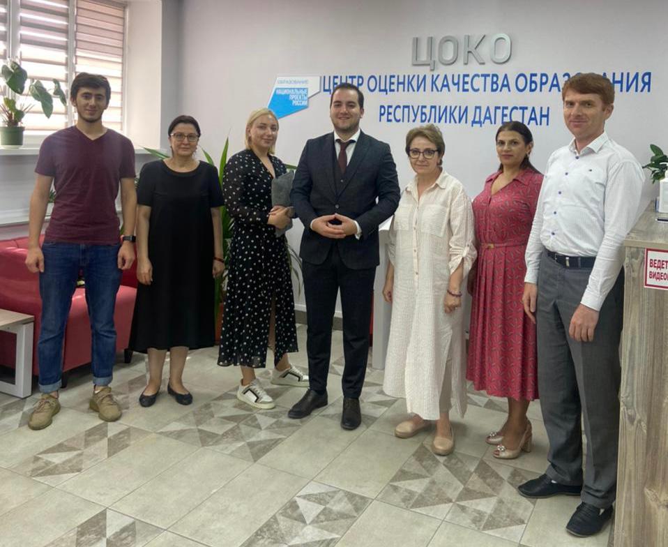 ДИРО и онлайн-платформа «Учи.ру» обсудили реализацию образовательных программ в Дагестане