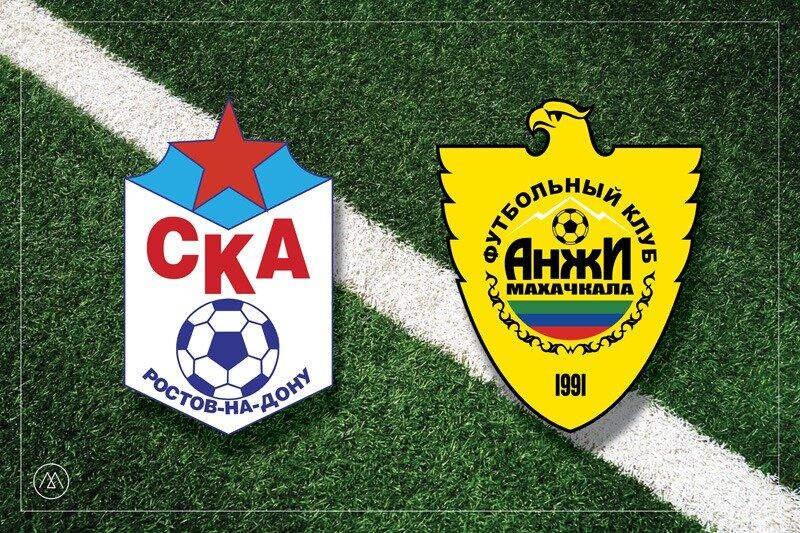 «Анжи» обыграл в гостях СКА, оставшись на второй тайм без главного тренера