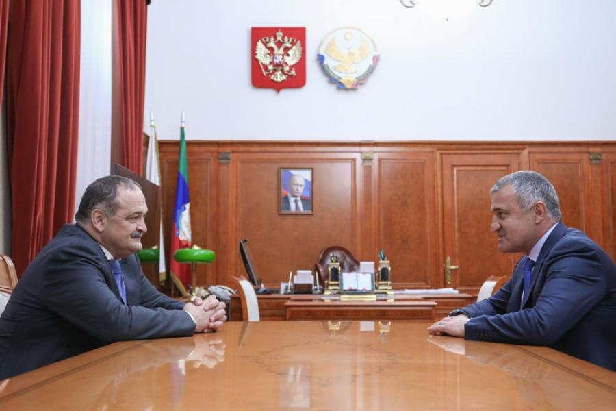 Сергей Меликов провел встречу с президентом Южной Осетии