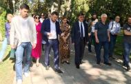 Мэр Махачкалы рассказал общественникам о планах по ремонту улиц и скверов