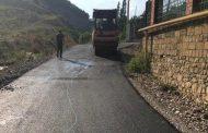 В Хивском районе по проекту «Мой Дагестан - мои дороги» отремонтировали четыре улицы