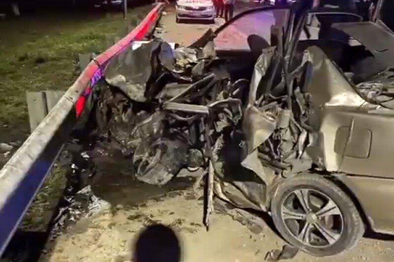 Двойное ДТП на трассе «Кавказ»: один человек погиб, пятеро получили травмы