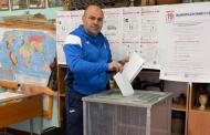 Глава минспорта Дагестана Сажид Сажидов принял участие в голосовании