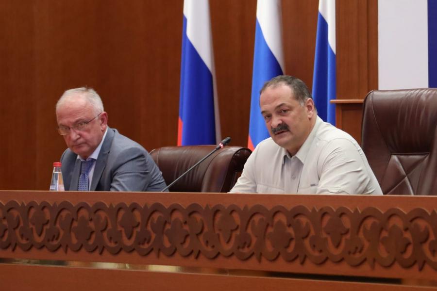 Готовность к проведению выборов в Дагестане обсудили под руководством Сергея Меликова