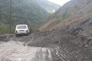 Из-за разрушения дорог прервано движение транспорта между Цумадинским и Цунтинским районами
