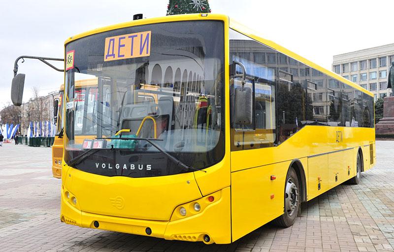 В Дагестан поступит более сотни школьных автобусов