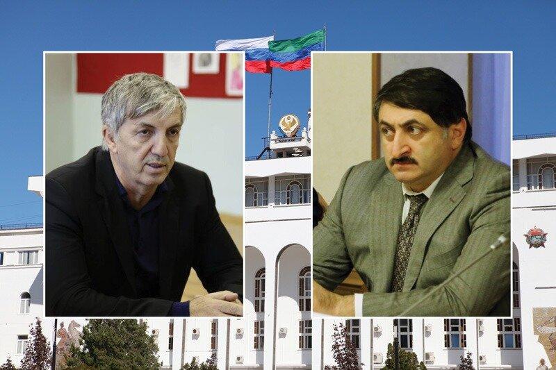 Сергей Меликов освободил Хизри Абакарова и Джамалдина Гасанова от занимаемых должностей