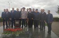 В Каспийске остоялась закладка первого камня будущего мемориала памяти воинам-дагестанцам