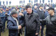 Абдулпатах Амирханов поздравил жителейДахадаевского района с 90-летием муниципалитета