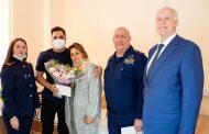 Бастрыкин вручил медаль «Доблесть и отвага» Роману Ковалеву