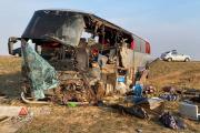 В Дагестане прокуратура проверит перевозчика, чей рейсовый автобус попал в ДТП в Калмыкии