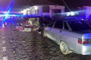 В Дербентском районе столкнулись три автомобиля, погибли два человека