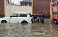 В Махачкале и Каспийске МЧС ликвидирует последствия непогоды