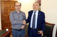 Алим Темирбулатов получил медаль за укрепление дружбы между народами Дагестана и Азербайджана