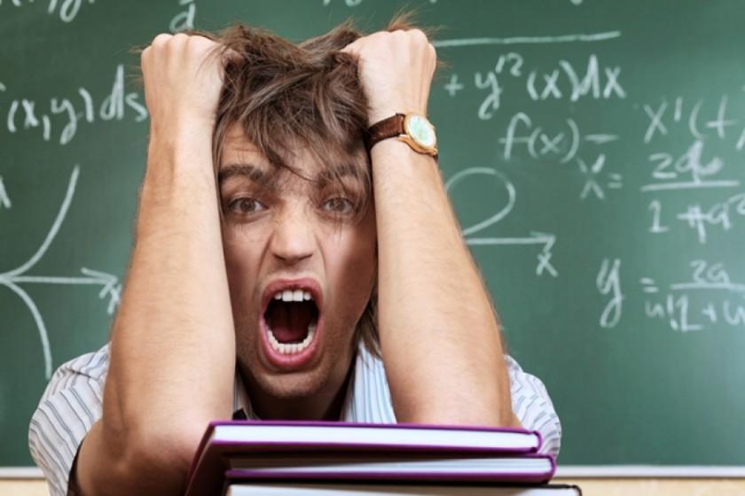 Экзамен – это стресс и нервотрепка
