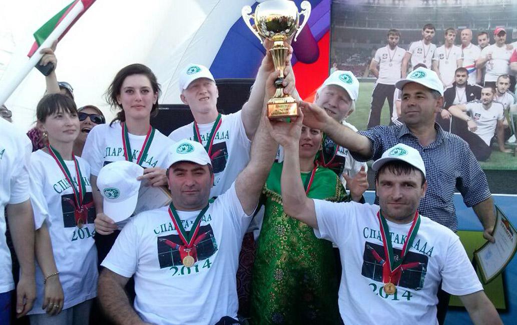 Команда из Дагестана победила на спортивных соревнованиях среди инвалидов по СКФО